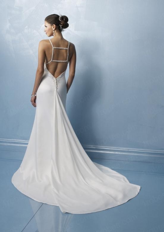голая спина в платье