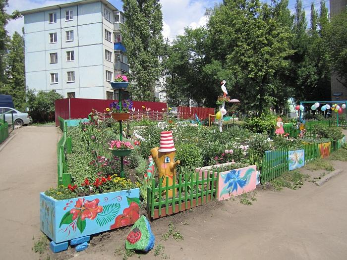 Детский двор своими руками фото
